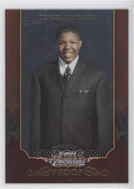 2009 Donruss Americana - [Base] - Proofs Gold #49 - Denzel Whitaker /50