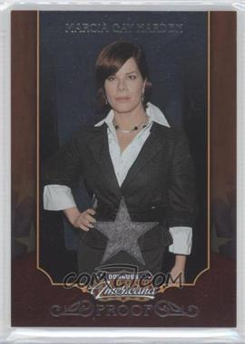 2009 Donruss Americana - [Base] - Proofs Silver Star Materials [Memorabilia] #3 - Marcia Gay Harden /50