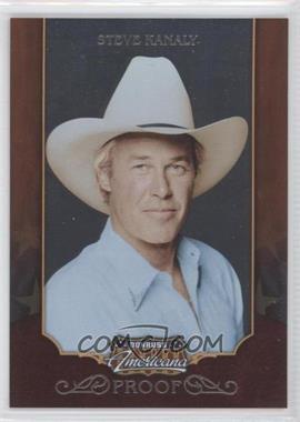 2009 Donruss Americana - [Base] - Proofs Silver #28 - Steve Kanaly /100