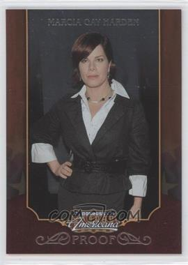 2009 Donruss Americana - [Base] - Proofs Silver #3 - Marcia Gay Harden /100
