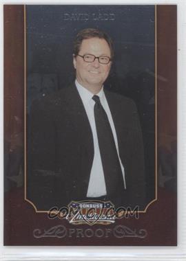 2009 Donruss Americana - [Base] - Proofs Silver #36 - David Ladd /100