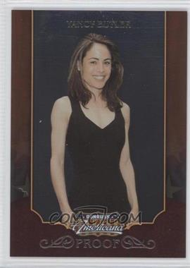 2009 Donruss Americana - [Base] - Proofs Silver #65 - Yancy Butler /100