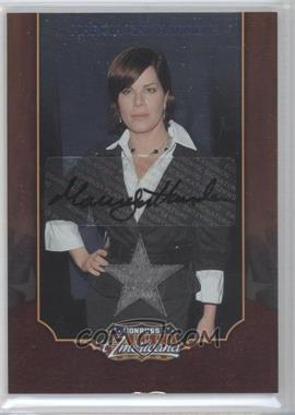 2009 Donruss Americana - [Base] - Star Materials Signatures [Autographed] [Memorabilia] #3 - Marcia Gay Harden /100