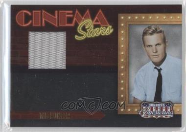 2009 Donruss Americana - Cinema Stars - Materials [Memorabilia] #7 - Tab Hunter /150