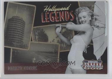 2009 Donruss Americana - Hollywood Legends #2 - Marilyn Monroe /1000