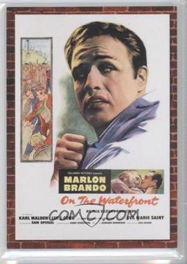 2009 Donruss Americana - Movie Posters - Materials #2 - Marlon Brando /500