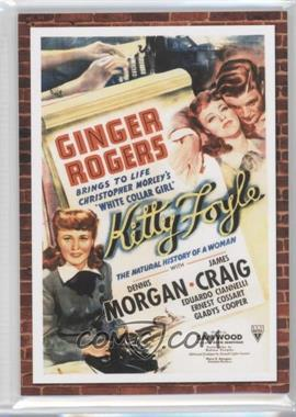 2009 Donruss Americana - Movie Posters - Materials #54 - Ginger Rogers /500