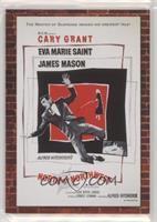 Cary Grant, Eva Marie Saint, James Mason #/500
