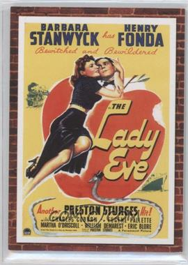 2009 Donruss Americana - Movie Posters Materials Combos #52 - Barbara Stanwyck, Henry Fonda /500