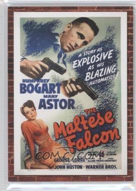 2009 Donruss Americana - Movie Posters Materials Combos #7 - Humphrey Bogart, Mary Astor /250