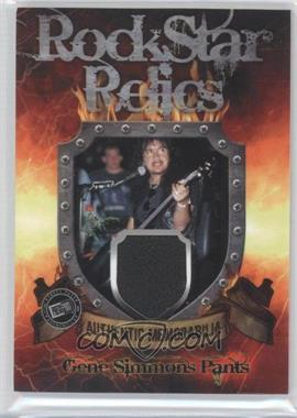 2009 Press Pass KISS 360 - Rock Star Relics #RR-GS1 - Gene Simmons