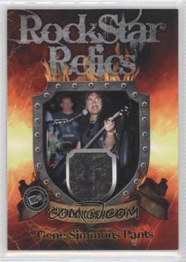 2009 Press Pass KISS 360 - Rock Star Relics #RR-GS1 - Gene Simmons