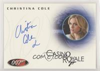 Christina Cole as Club Receptionist