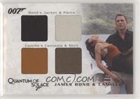 James Bond & Camille (Jacket & Pants, Camisole & Skirt)) #/425