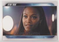 Starfleet cadet Uhura…
