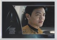 John Cho as Sulu