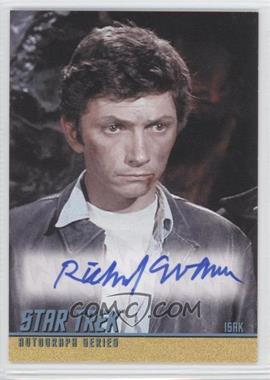 2009 Rittenhouse Star Trek The Original Series: Archives - Autographs #A170 - Richard Evans as Isak