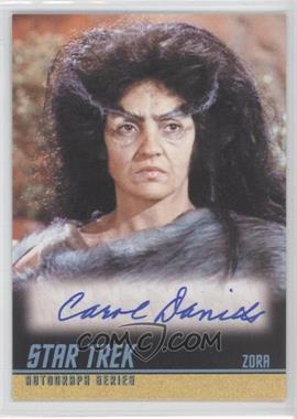 2009 Rittenhouse Star Trek The Original Series: Archives - Autographs #A210 - Carol Daniels as Zora