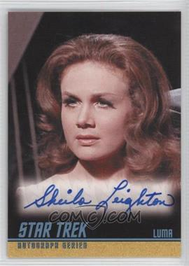 2009 Rittenhouse Star Trek The Original Series: Archives - Autographs #A239 - Sheila Leighton as Luma