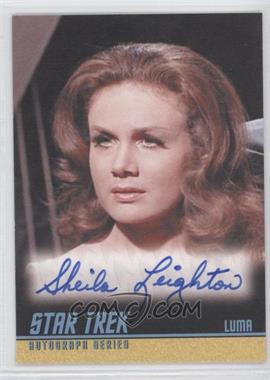 2009 Rittenhouse Star Trek The Original Series: Archives - Autographs #A239 - Sheila Leighton