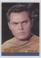 Jeffrey Hunter as Captain Pike