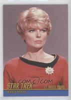 Joan Marshall as Lt. Areel Shaw