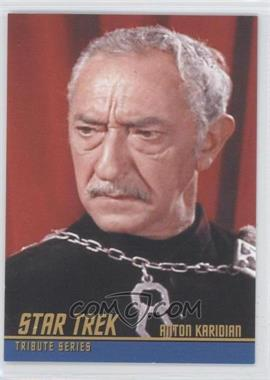 2009 Rittenhouse Star Trek The Original Series: Archives - Tribute Series #T9 - Arnold Moss as Anton Karidian