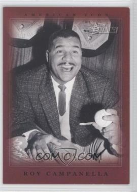 2009 Topps American Heritage - American Icons #AI7 - Roy Campanella /99