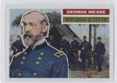 2009 Topps American Heritage - [Base] - Chrome #C30 - George Meade /1776