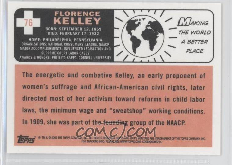 where was florence kelley born