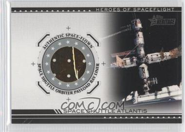 2009 Topps Heritage American Heroes Edition - Heroes of Space Flight Relics #HSFR-SSA2 - Space Shuttle Atlantis
