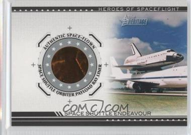 2009 Topps Heritage American Heroes Edition - Heroes of Space Flight Relics #HSFR-SSE2 - Space Shuttle Endeavour