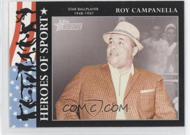 2009 Topps Heritage American Heroes Edition - Heroes of Sports #HS-12 - Roy Campanella