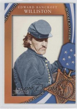 2009 Topps Heritage American Heroes Edition - Medal of Honor #MOH-46 - Edward Bancroft Williston