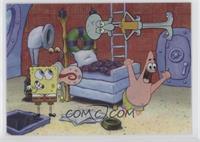 Spongebob Squarepants, Patrick Star, Squidward