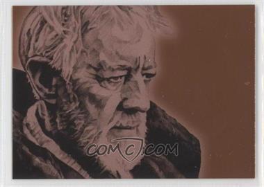 2009 Topps Star Wars Galaxy Series 4 - Foil Art - Bronze #5 - [Missing]