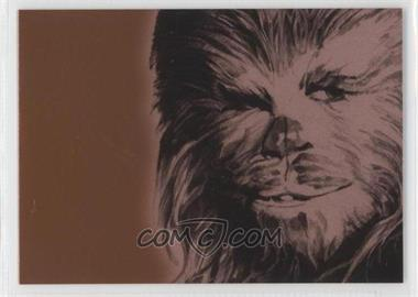 2009 Topps Star Wars Galaxy Series 4 - Foil Art - Bronze #6 - [Missing]