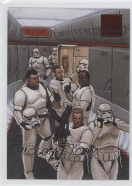 2009 Topps Star Wars Galaxy Series 4 - Lost Galaxy #1 - Under the Helmets