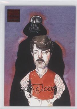 2009 Topps Star Wars Galaxy Series 4 - Lost Galaxy #2 - Myth Behind the Man