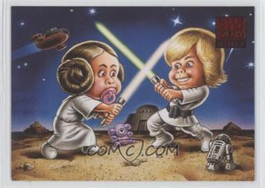 2009 Topps Star Wars Galaxy Series 4 - Lost Galaxy #3 - Younglings at Play