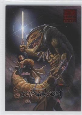 2009 Topps Star Wars Galaxy Series 4 - Lost Galaxy #5 - [Missing]