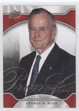 2009 Upper Deck Prominent Cuts - [Base] #5 - George H. Bush