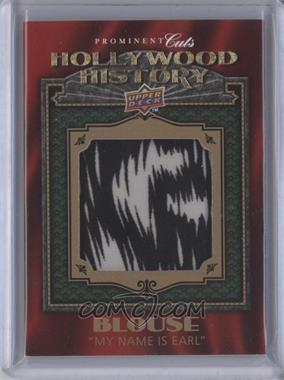 2009 Upper Deck Prominent Cuts - Hollywood History #HH-13 - Alyssa Milano