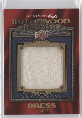2009 Upper Deck Prominent Cuts - Hollywood History #HH-14 - Bette Davis