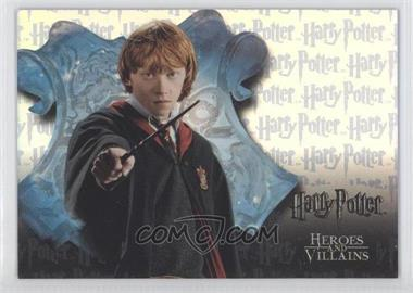 2010 Artbox Harry Potter Heroes and Villians - Box-Toppers #BT2 - [Missing]