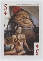 Jabba The Hutt, Princess Leia Organa