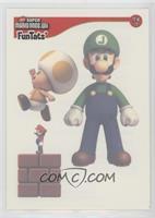 Luigi, Toad, Mario