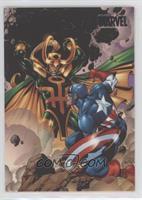 Captain America vs. Loki