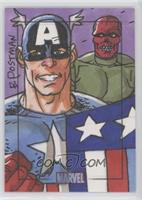 Brian Postman (Red Skull, Captain America) /1