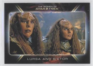 "2010 Rittenhouse The ""Quotable"" Star Trek Movies - [Base] #87 - Lursa and B'etor"